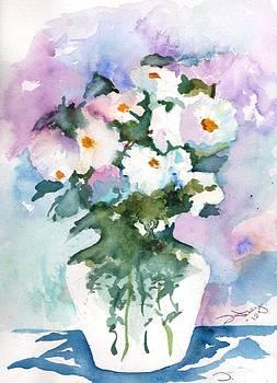 Vase with Flowers by Sandi Stonebraker