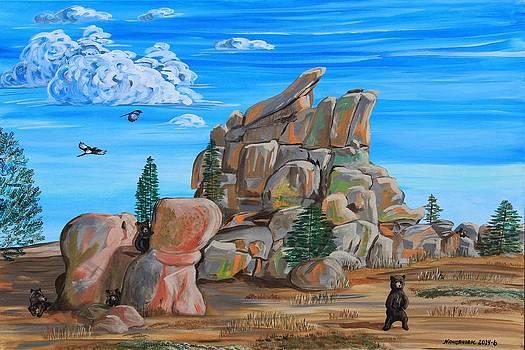 Vedauwoo Hide and Seek by Mike Nahorniak