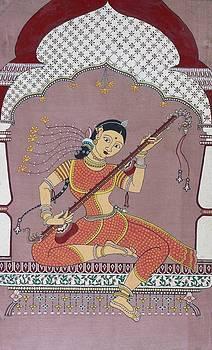 Veena player by Prasida Yerra