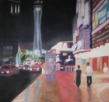 Vegas Strip by Karen Snider