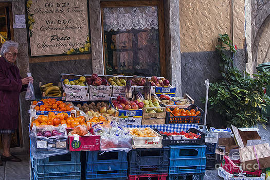 Patricia Hofmeester - Vegetable stand Italy