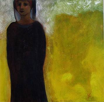 Veiled Woman by Bonnie  Schulte