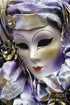 Venetian mask by Derek Croucher