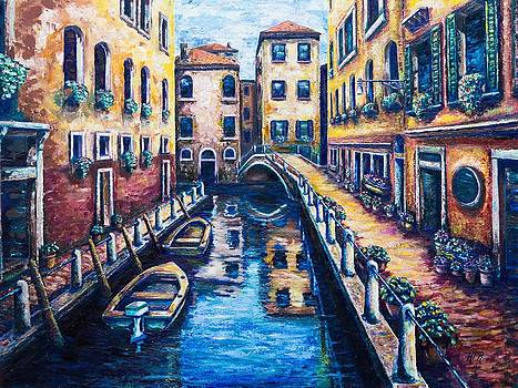 Venetian Passages by Kevin Richard