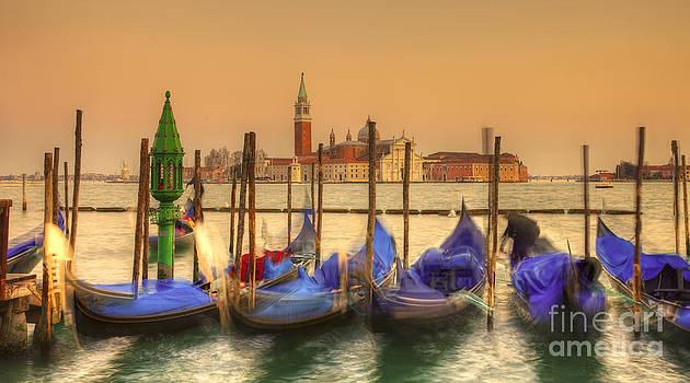 Venetian sunset by Radu Razvan