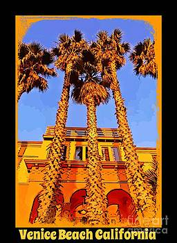 John Malone - Venice Beach Poster