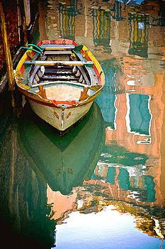 Venice Boat by Michael Fahey