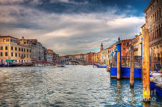 Venice cityscape by Radu Razvan