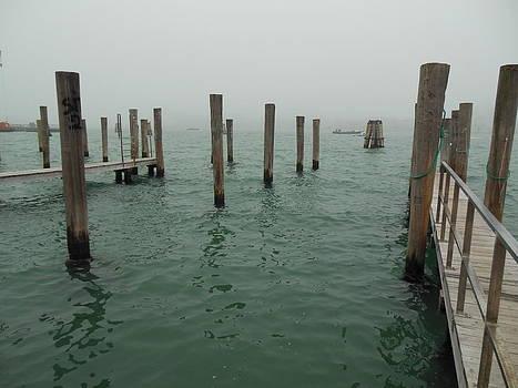 Venice Dock by Donna Jacobi