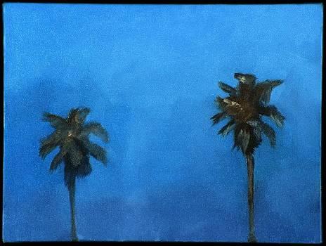 Venice Palm Trees by Randine Dodson