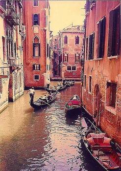 Venice Row by Rollin Jewett