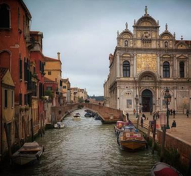 Venice Street Scene by Daniel Sands