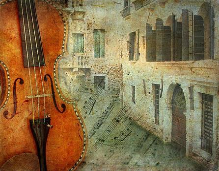 Venice Violin by Irene Beumer-Zanini