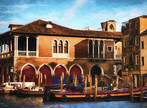 Venice Warehouse by Mick Burkey