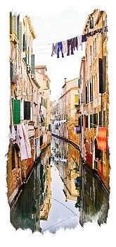 Venice Washday by Michael Fahey