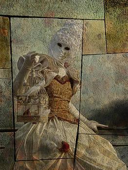 Barbara Orenya - Venitian carnival-Bird in a cage