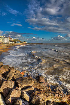 English Landscapes - Ventnor Beach and Haven