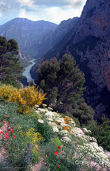 Verdon Gorge in High Alps of Provence by Gerald MacLennon