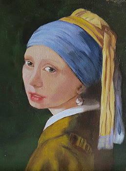 Vermeer Study by Sharon Schultz