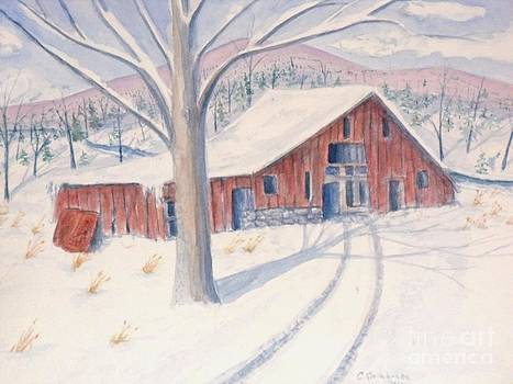 Vermont Barn by Craig Calabrese