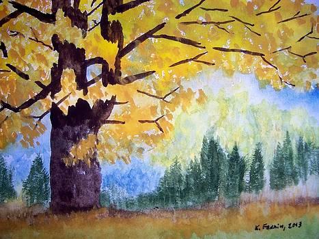 Vermont Maple by B Kathleen Fannin