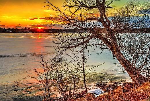 Vernal Equinox Sunset by Mark Cranston