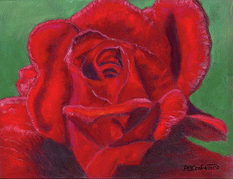 Very Red Rose by Arlene Crafton