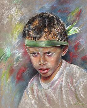 Miki De Goodaboom - Very Young Maori Warrior from Tahiti
