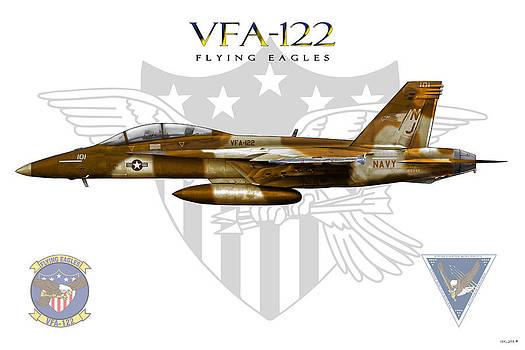 VFA-122 Foxtrot by Clay Greunke
