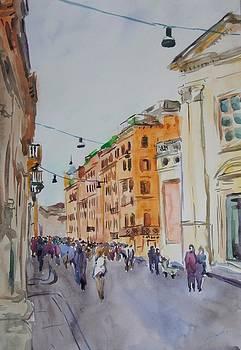 Via Del Corso by Litvac Vadim