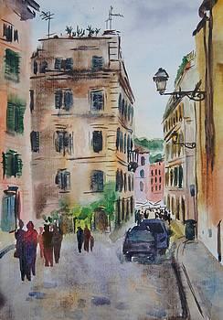 Via Della Lungaretta by Litvac Vadim