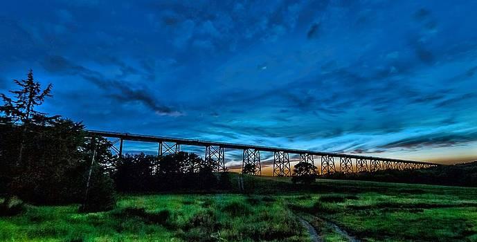 Viaduct Twilight by Mark Cranston