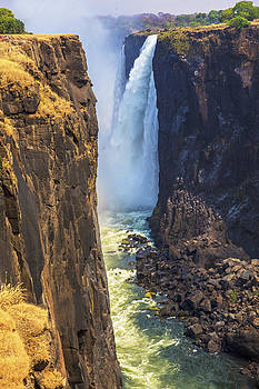 Victoria Falls South Africa  321 by Larry Roberson