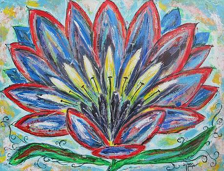 Hawaiian Flower by Diane Pape