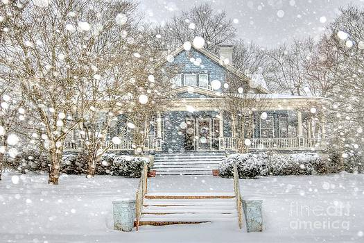 Victorian Snow Fall by Benanne Stiens