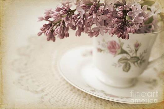 Victorian Tea Cup by Dolly Genannt