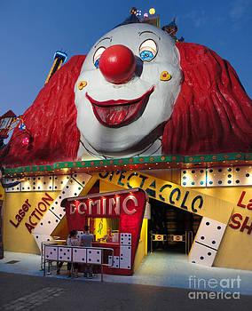 Gregory Dyer - Vienna Praterstern Park Clown