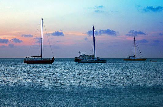 Carolyn Stagger Cokley - view from a catamaran3 - aruba