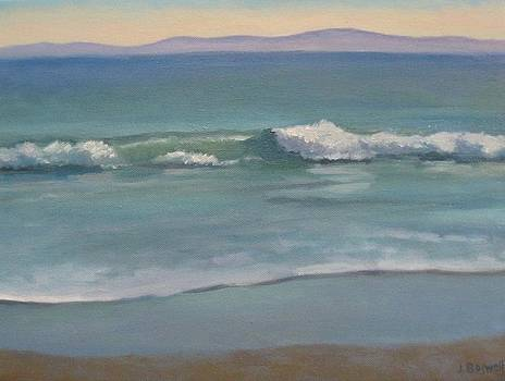 View from Butterfly Beach Series 4 by Jennifer Boswell