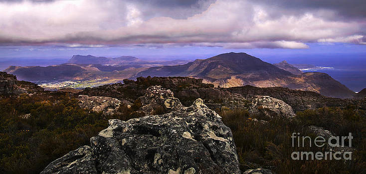 View from Table Mountain by Daniela White