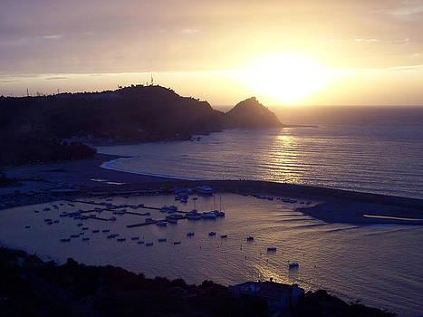 View Of Capo D'orlando by Alberto Pala