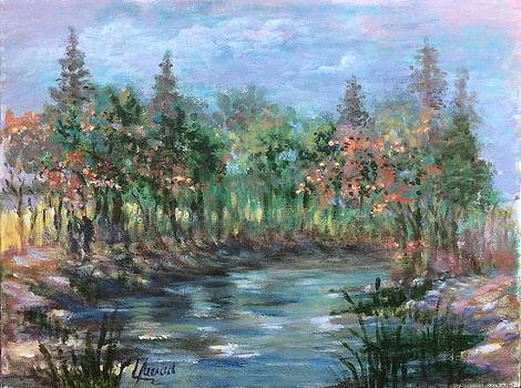 A Creek's View by Laila Awad Jamaleldin