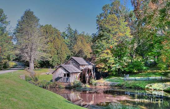 View Of Mabrys Mill Virginia by Kathleen Struckle