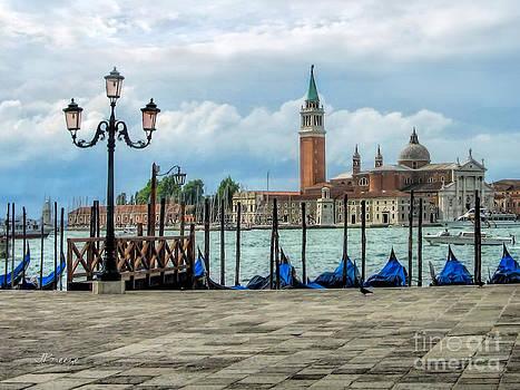 View of San Giorgio Maggiore.Venice by Jennie Breeze