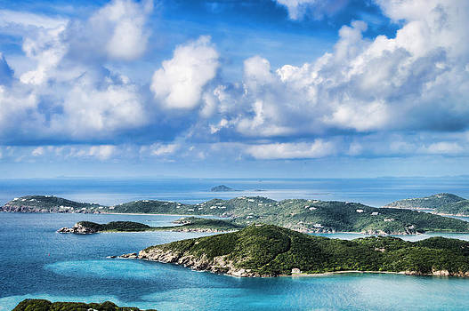 View Of The Islands by Kathy Jennings