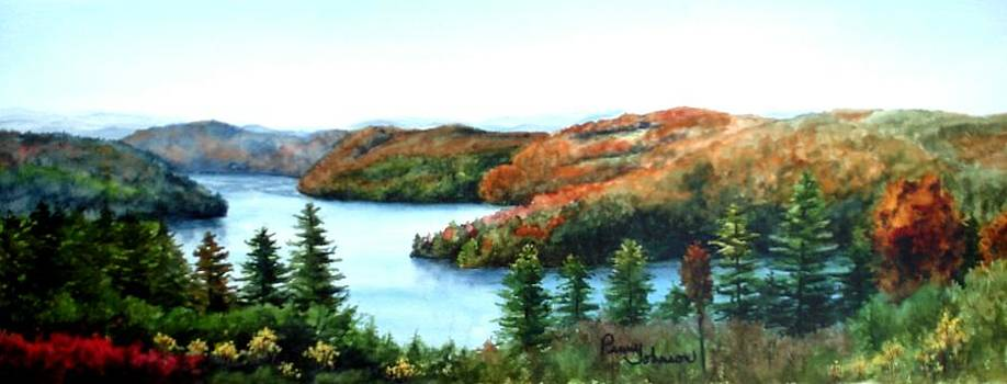 View Of The Lake by Penny Johnson