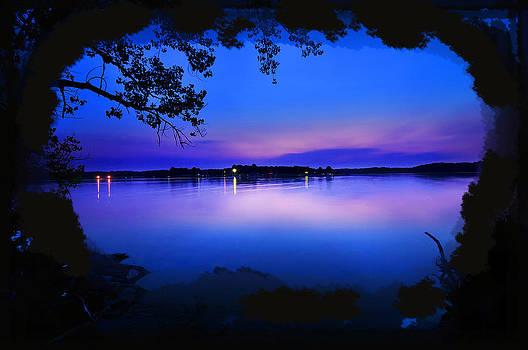 Randall Branham - View of the Night Lake
