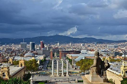 View on Barcelona by Dorota Nowak
