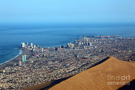 James Brunker - View over Iquique Chile