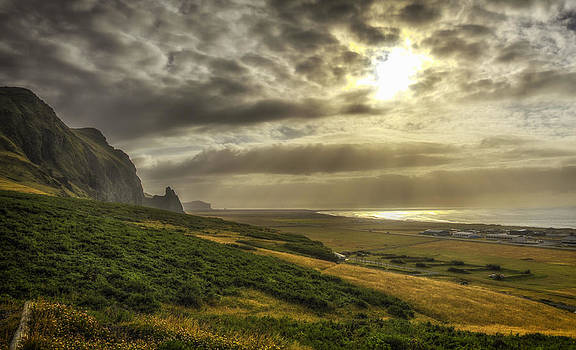Vik Iceland by Claudio Bacinello